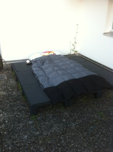 Sommerschlafplatz